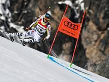 Alexander Schmid nach erstem Durchgang Dritter