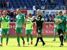 Greuther Fürth klettert durch den Sieg auf Platz zwei