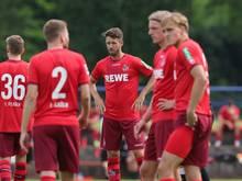 Köln spielt gegen den Gast aus den Niederlanden nur 1:1