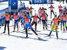 Hohe Einschaltquoten bei Biathlon-WM
