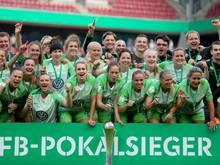 Die Wolfsburger Frauen sicherten sich das Double