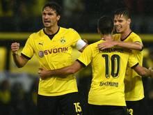Dortmund freut sich über den Ausgleich von Mchitarjan