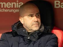 Peter Bosz und Bayer Leverkusen sind zum Siegen verdammt