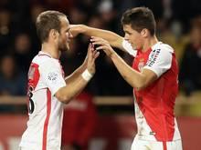 Germain (l.) und Carrillo feiern ihre Treffer