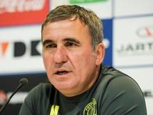Gheorghe Hagi hat sich selbst als Trainer entlassen