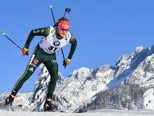 Benedikt Doll landet im Sprint über 10 km auf Rang drei