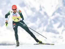 Johannes Rydzek kämpft in Oberstdorf um eine Medaille
