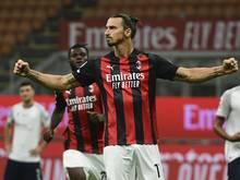 Ibrahimovic ist bei Milan trotz seines Alters gesetzt