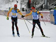 Deutsche Biathlon-Staffel erreicht nur Platz fünf