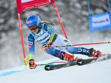 Halbzeit-Führung beim Weltcup-Finale: Mikaela Shiffrin