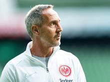Adi Hütter ist seit 2018 Trainer von Eintracht Frankfurt