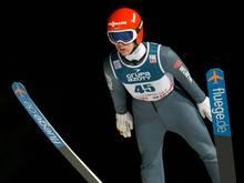 Stephan Leyhe mit 139,0 m auf Rang zwei