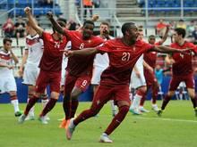 Portugal zieht mit einem Kantersieg ins Finale ein