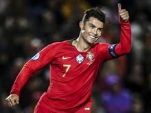 Ronaldo qualifiziert sich mit Portugal für EM 2020