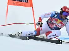 Feuz gewann auch die zweite Abfahrt in Kitzbühel