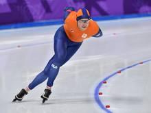 Geht nicht über die 10.000 m an den Start: Sven Kramer