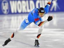 Eissprinter Ihle belegt in Heerenveen nur den 13. Platz