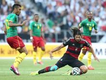 Deutschland und Kamerun trennen sich im  mit 2:2