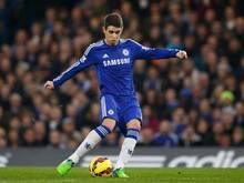 Oscar sichert Chelsea den Sieg gegen den AC Mailand