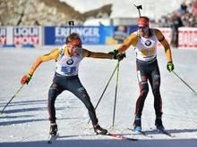 Arnd Peiffer und Benedikt Doll verpassen Medaille