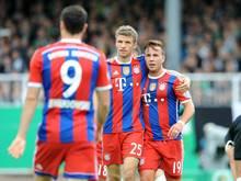 Bayern meisterte zum 20. Mal in Folge die erste Runde