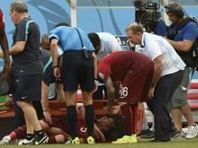 Fabio Coentrao musste verletzt ausgewechselt werden