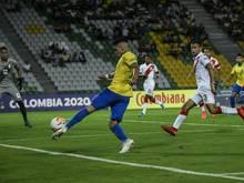 Bayers Paulinho erzielt das Siegtor für Brasiliens U23