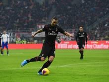 Ibrahimović feierte sein Comeback beim AC Milan