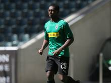 Doucoure lief zum ersten Mal für die Borussia auf