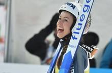 Juliane Seyfarth gewinnt das Springen in Nischni Tagil