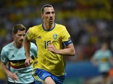 Ibrahimović 2016 bei seinem bisher letzten Länderspiel