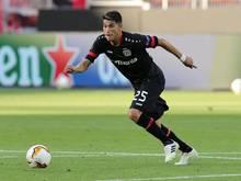 Erzielte seinen ersten Treffer: Exequiel Palacios