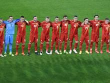Nordmazedonien lediglich mit Remis gegen Island
