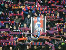Russische Fans vor Spiel in Rom verletzt