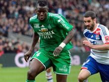 Verteidiger Kurt Zouma (l.) wechselt zum FC Chelsea