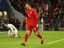 Lewandowski trifft in der 88. Minute zum Sieg
