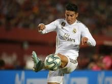 James Rodriguez fällt vorerst verletzungsbedingt aus
