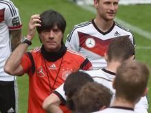 Joachim Löw testet am Sonntag gegen Kamerun