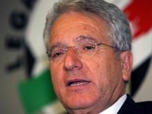 Antonio Matarrese hatte für Bari Insolvenz angemeldet