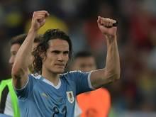 Edinson Cavani bescherte Uruguay den Gruppensieg