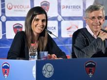 Doch nicht auf der Trainerbank: Helena Costa