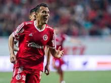 Juan Arango muss zwei Spiele lang zuschauen