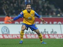 Geht mit der Eintracht in die zweite Liga: Deniz Dogan