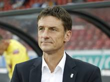 Urs Meier wurde als Trainer des FC Zürich entlassen