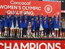Die Weltmeisterinnen fordern gleiche Bezahlung