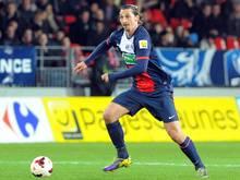 Mann des Spiels: Superstar Zlatan Ibrahimovic