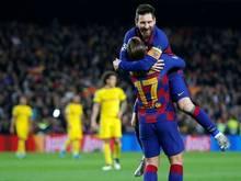 Lionel Messi und Barcelona zu stark für den BVB
