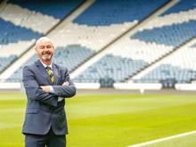 Schottlands Cheftrainer Steve Clarke