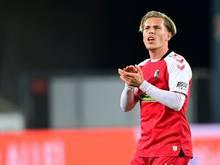 Lino Tempelmann wird an den 1. FC Nürnberg ausgeliehen