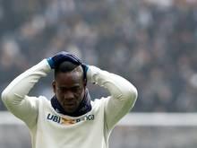 Mario Balotelli ist unzufrieden bei Adana Demirspor